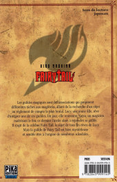 Verso de Fairy Tail -1- Tome 1