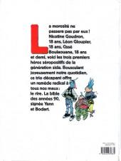 Verso de Nicotine Goudron - Tome 1