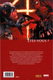 Verso de Civil War (Marvel Deluxe) -1- Guerre civile