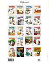 Verso de Calvin et Hobbes -21- Je suis trop génial !