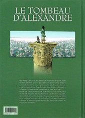 Verso de Le tombeau d'Alexandre -1- Le Manuscrit de Cyrène