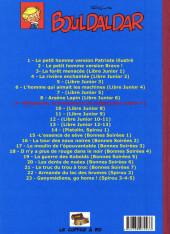 Verso de Bouldaldar et Colégram -9- Ballaboule, Le bonhomme de neige (Libre Junior 7)