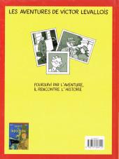 Verso de Victor Levallois -1- Trafic en Indochine