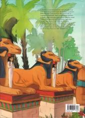 Verso de Sur les terres d'Horus -7- Neferhor ou la quête d'Isis