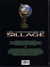 Verso de Sillage (Les chroniques de) -6- Volume 6