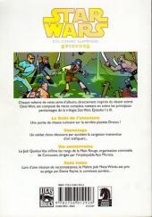 Verso de Star Wars - Clone Wars Episodes -9- Pas d'issue pour les Jedi
