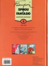 Verso de Spirou et Fantasio -6- (Int. Dupuis 2) -6- Inventions maléfiques (1958-1959)