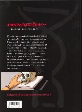 Verso de Disparitions -2- Retour aux sources II