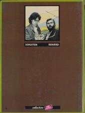 Verso de Métamorphoses (Schuiten/Renard) -1- Aux médianes de Cymbiola