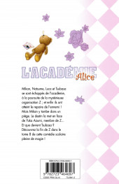 Verso de L'académie Alice -8- Tome 8