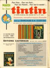 Verso de (Recueil) Tintin (Album du journal - Édition française) -81- Tintin album du journal