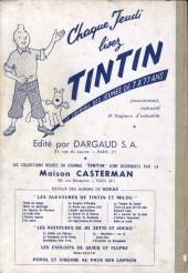 Verso de (Recueil) Tintin (Album du journal - Édition française) -39- Tintin album du journal