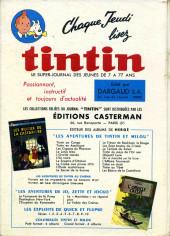 Verso de (Recueil) Tintin (Album du journal - Édition française) -71- Tintin album du journal (n°947 à 959)