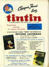 Verso de (Recueil) Tintin (Album du journal - Édition française) -72- Tintin album du journal (n°960 à 977)