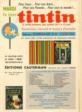 Verso de (Recueil) Tintin (Album du journal - Édition française) -80- Tintin album du journal