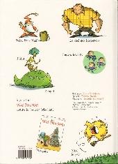 Verso de Petit Père Noël -2- Joyeux Halloween Petit Père Noël