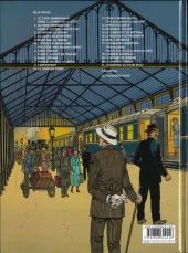 Verso de Victor Sackville -21- Le disparu du Train bleu