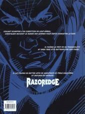 Verso de Razoredge -1- Résurrection