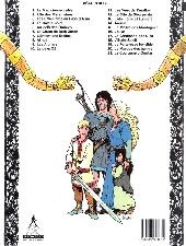 Verso de Thorgal -21- La couronne d'Ogotaï