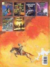 Verso de Jim Cutlass (Une aventure de) -6- Colts, Fantômes et Zombies