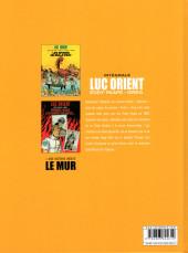 Verso de Luc Orient (Intégrale Le Lombard) -5- Intégrale 5