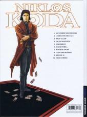 Verso de Niklos Koda -10- Trois d'épées