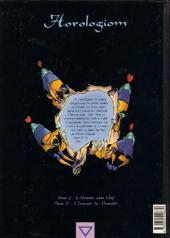 Verso de Horologiom -2- L'instant du Damokle