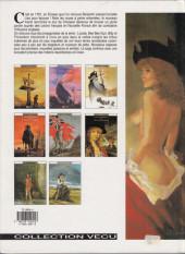 Verso de Les pionniers du Nouveau Monde -8- Petit homme