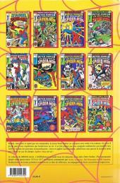 Verso de Spectacular Spider-Man (L'intégrale) -1- Spider-man : l'Intégrale 1976-1977