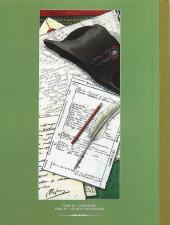 Verso de Double masque -INT2 TT- Tomes III & IV