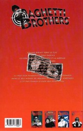 Verso de Spaghetti Brothers - Tome 4