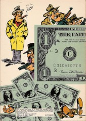 Verso de Sammy -8- Les gorilles et le roi Dollar