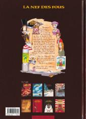Verso de La nef des fous -7- Terminus
