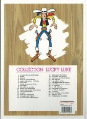 Verso de Lucky Luke -15Ind- L'Évasion des Dalton