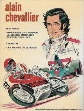 Verso de Alain Chevallier -3'- Tournoi pour 500