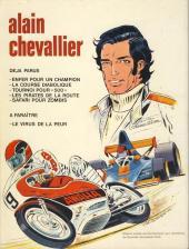 Verso de Alain Chevallier -5'- Safari pour Zombis