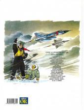 Verso de Tanguy et Laverdure -5or- Mirage sur l'Orient