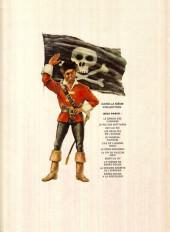 Verso de Barbe-Rouge -8b1972- Le piège espagnol