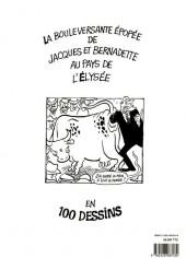 Verso de (AUT) Cabu - Les aventures épatantes de Jacques Chirac