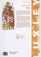 Verso de Luxley -4- Le sultan