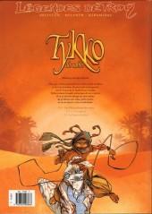 Verso de Tykko des sables -1- Les Chevaucheurs des vents