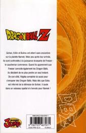 Verso de Dragon Ball Z -7- 2e partie : Le Super Saïyen / le commando Ginyu 2