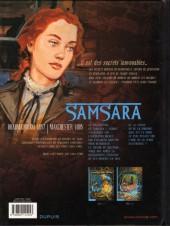 Verso de Secrets - Samsara -2- Samsara tome 2