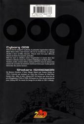 Verso de Cyborg 009 -1- Tome 1