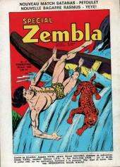 Verso de Zembla -63- Une femme à abattre