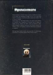 Verso de Anachron -2- Le Septième Capitaine