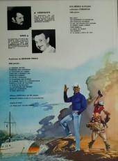 Verso de Bernard Prince -2d1983- Tonnerre sur Coronado
