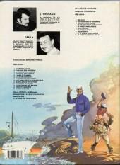 Verso de Bernard Prince -8b1985- La flamme verte du conquistador