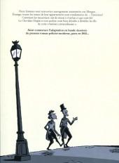 Verso de Double assassinat dans la rue Morgue (Céka/Clod) -TL- Double assassinat dans la rue Morgue