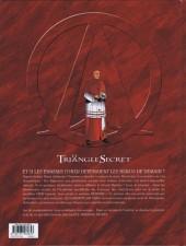 Verso de Le triangle secret - Les Gardiens du Sang -1- Le Crâne de Cagliostro